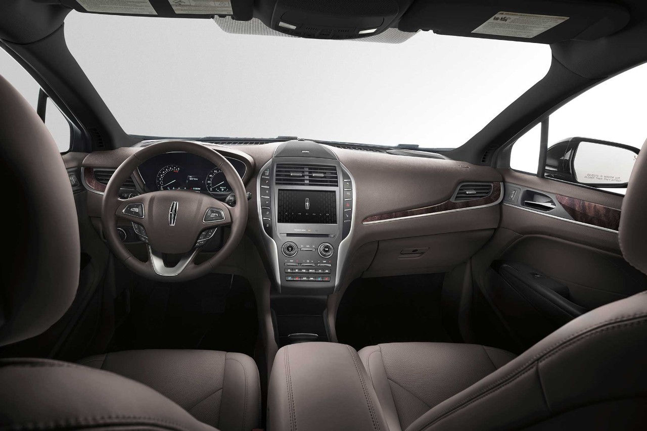 2017 Lincoln MKC Select Front Interior
