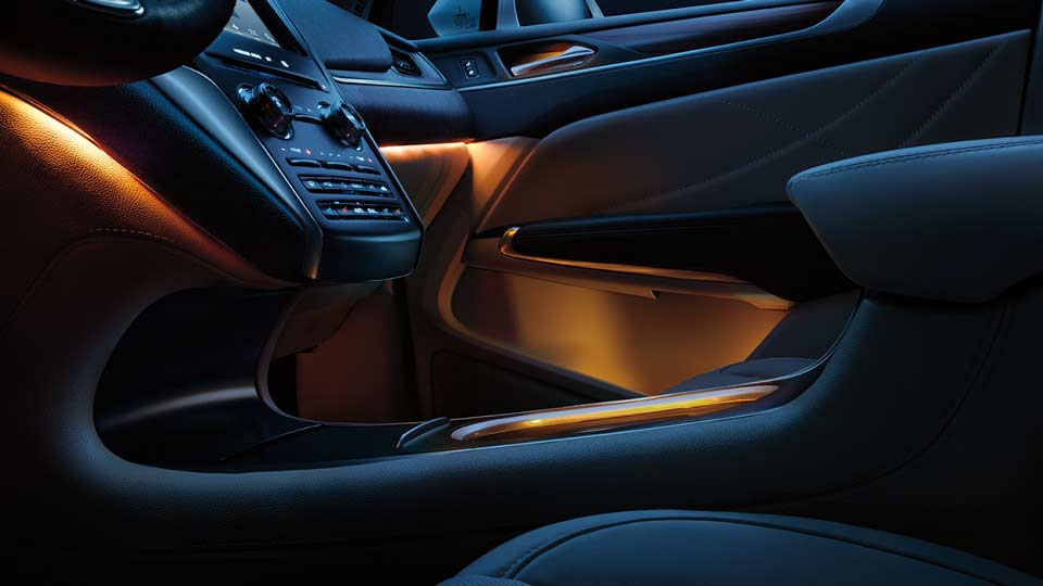 2017 Lincoln MKC Interior Lighting