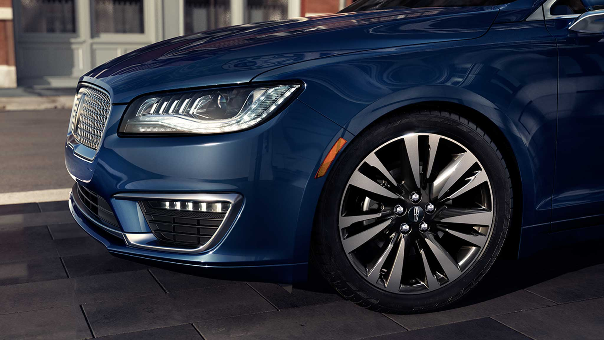 2017 Lincoln MKZ Front Exterior Blue