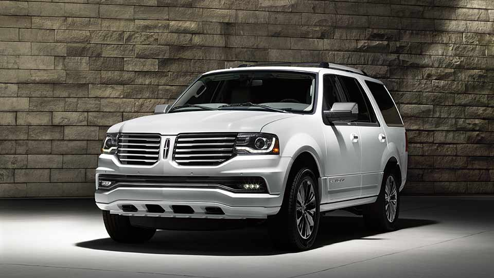 2017 Lincoln Navigator Exterior Front White