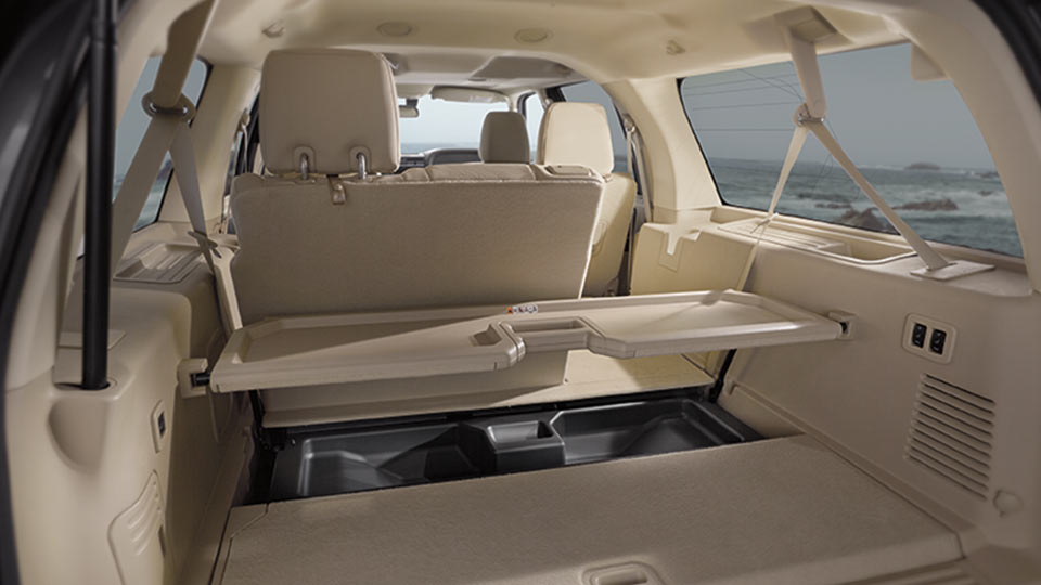2017 Lincoln Navigator Interior Seating