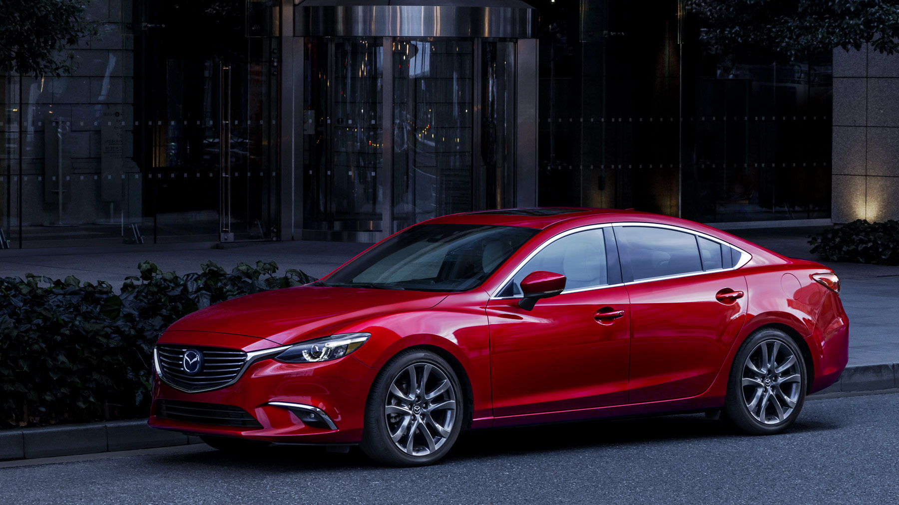 2017 Mazda 6 Side Exterior Red