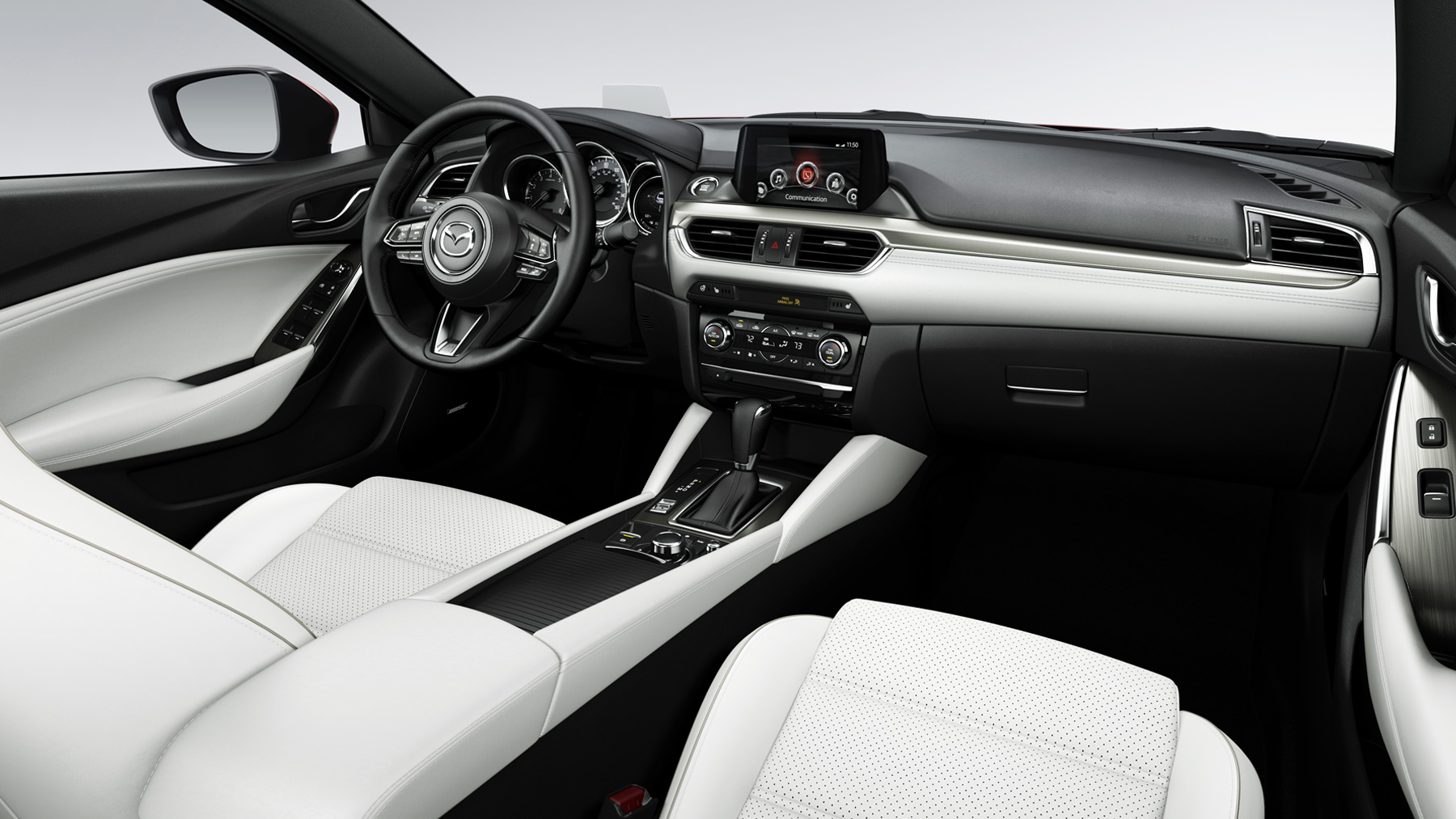 2017 Mazda 6 Side Front Interior