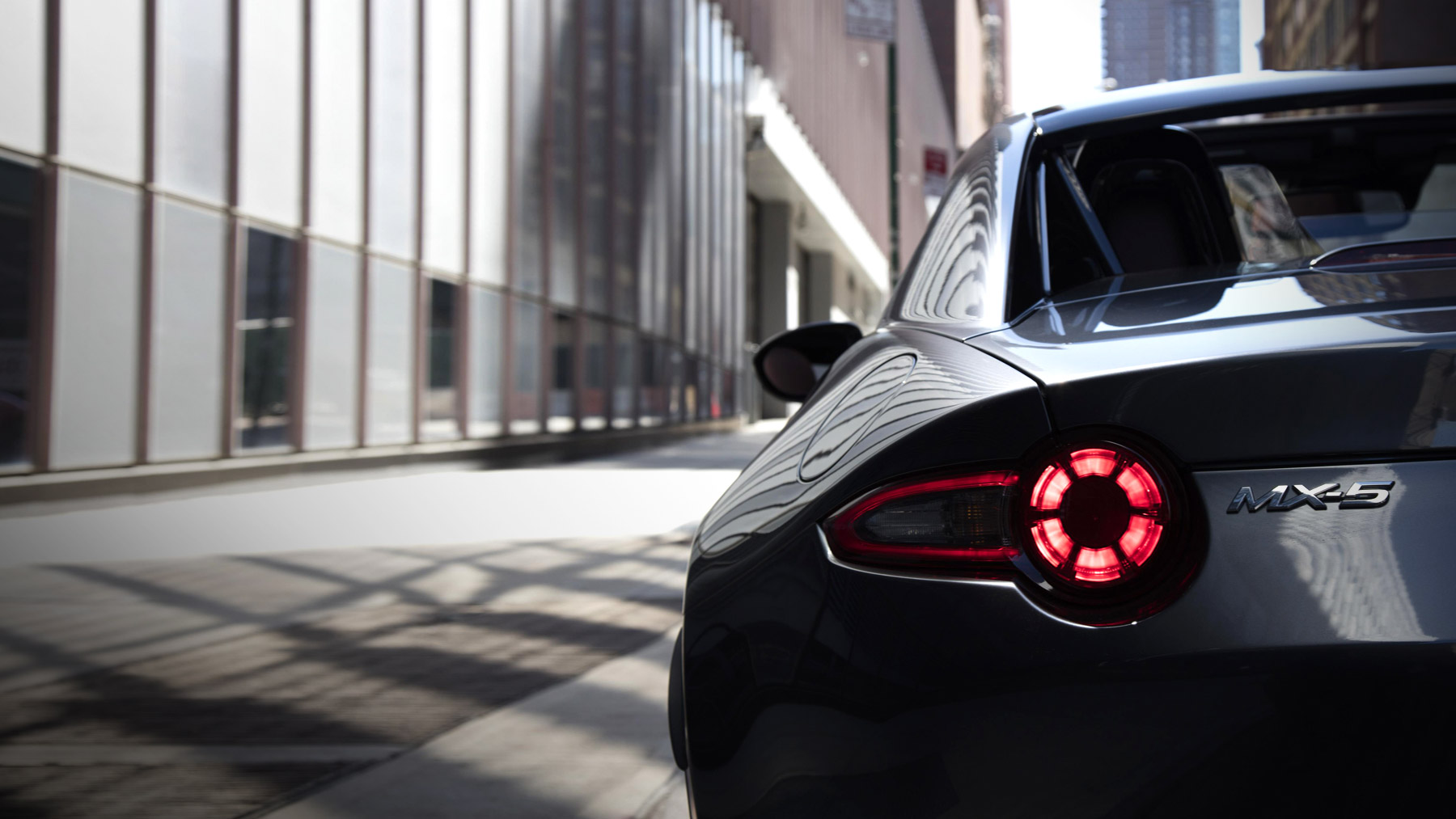 2017 Mazda MX-5 Miata RF Club Taillight Rear Exterior