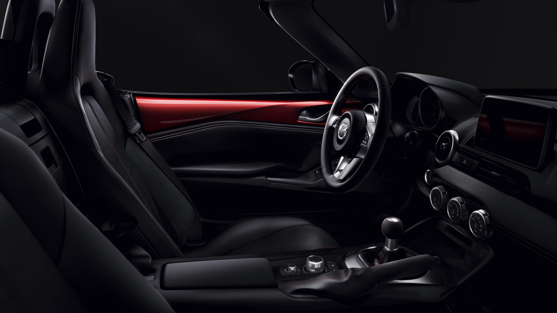 2017 Mazda MX-5 Miata RF Seating Interior