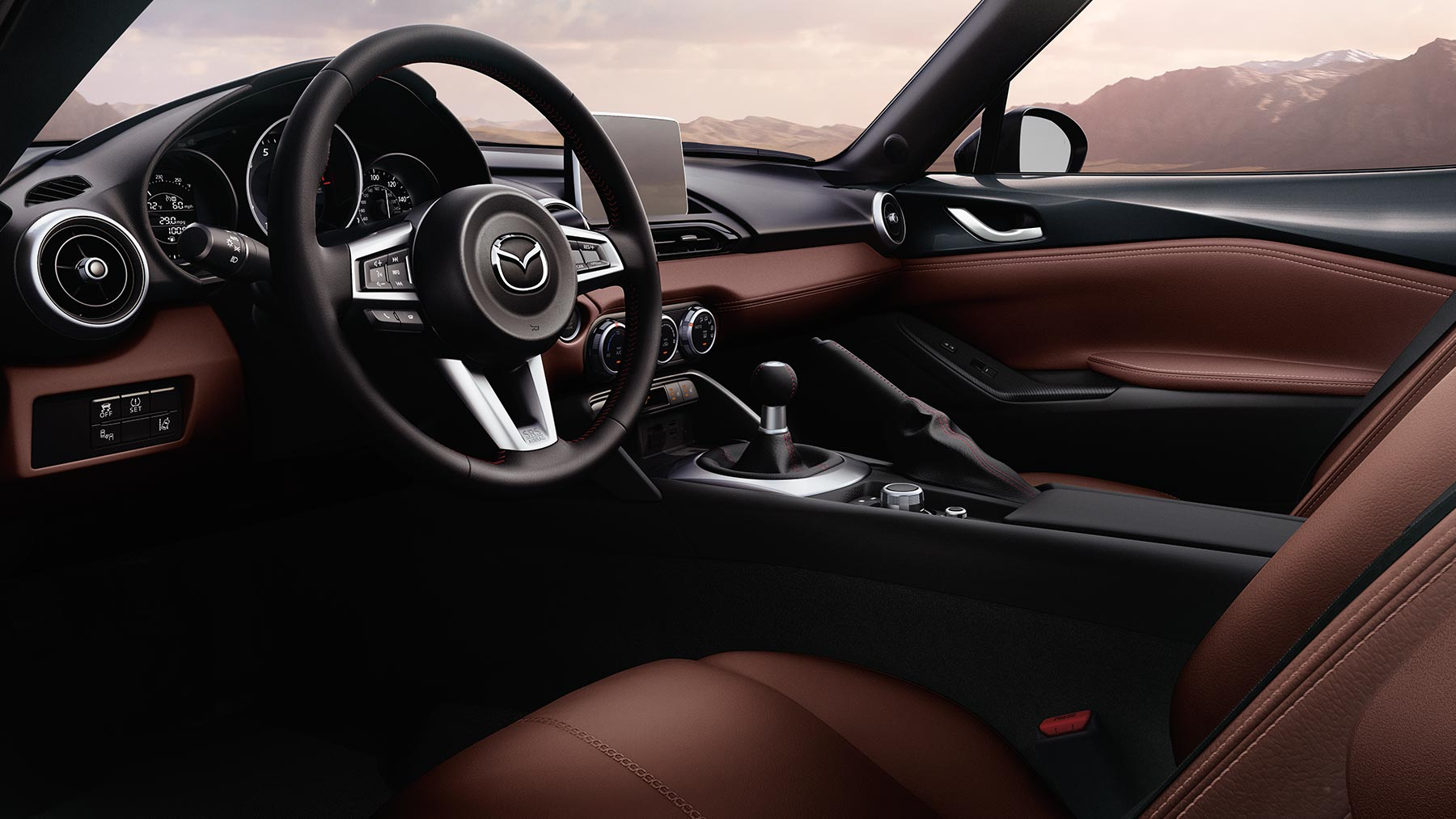 2017 Mazda MX-5 Miata Side Interior