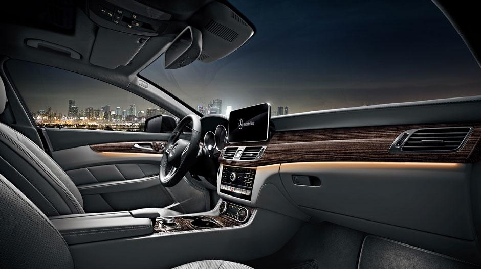 2017 Mercedes Benz Cls550 Dashboard Interior