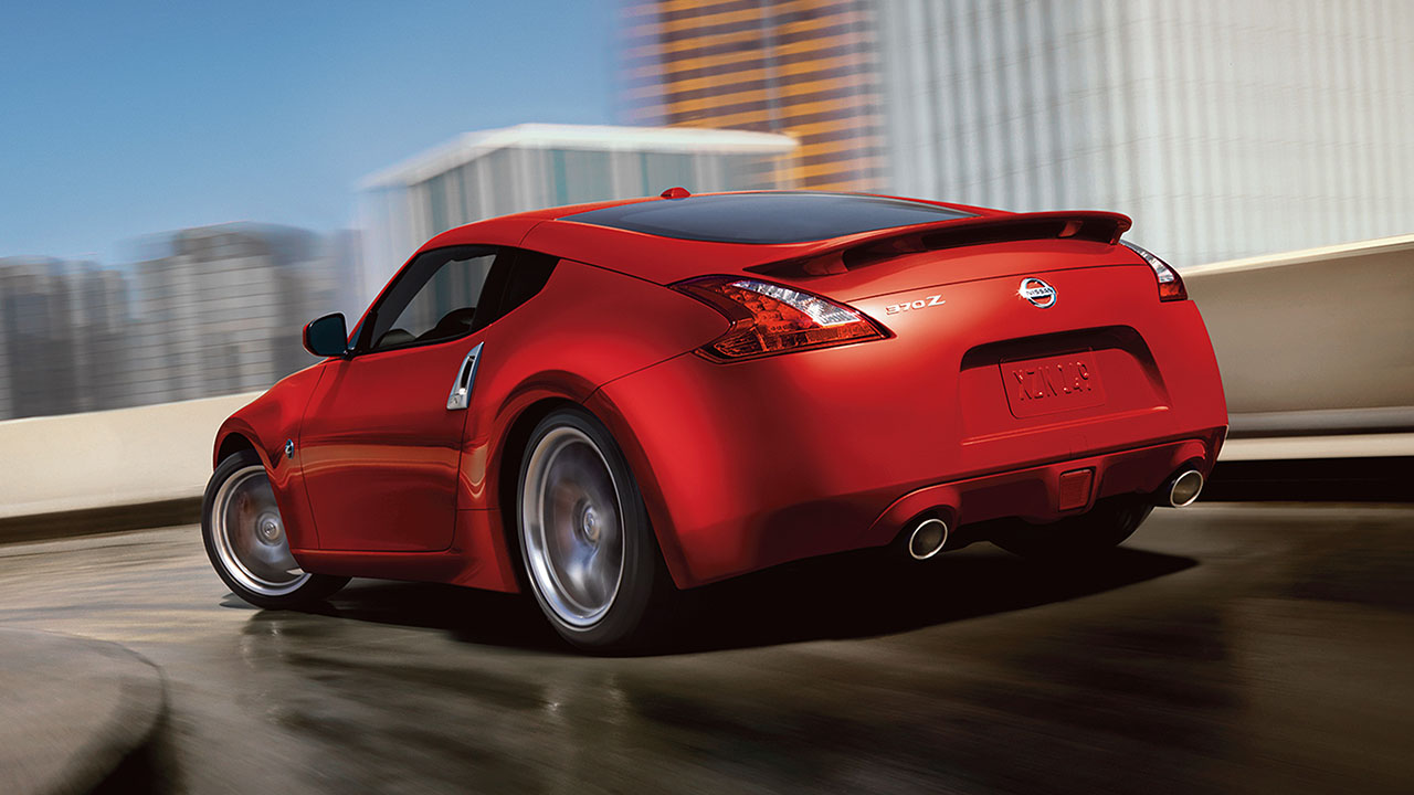 2017 Nissan 370z Red Rear Exterior