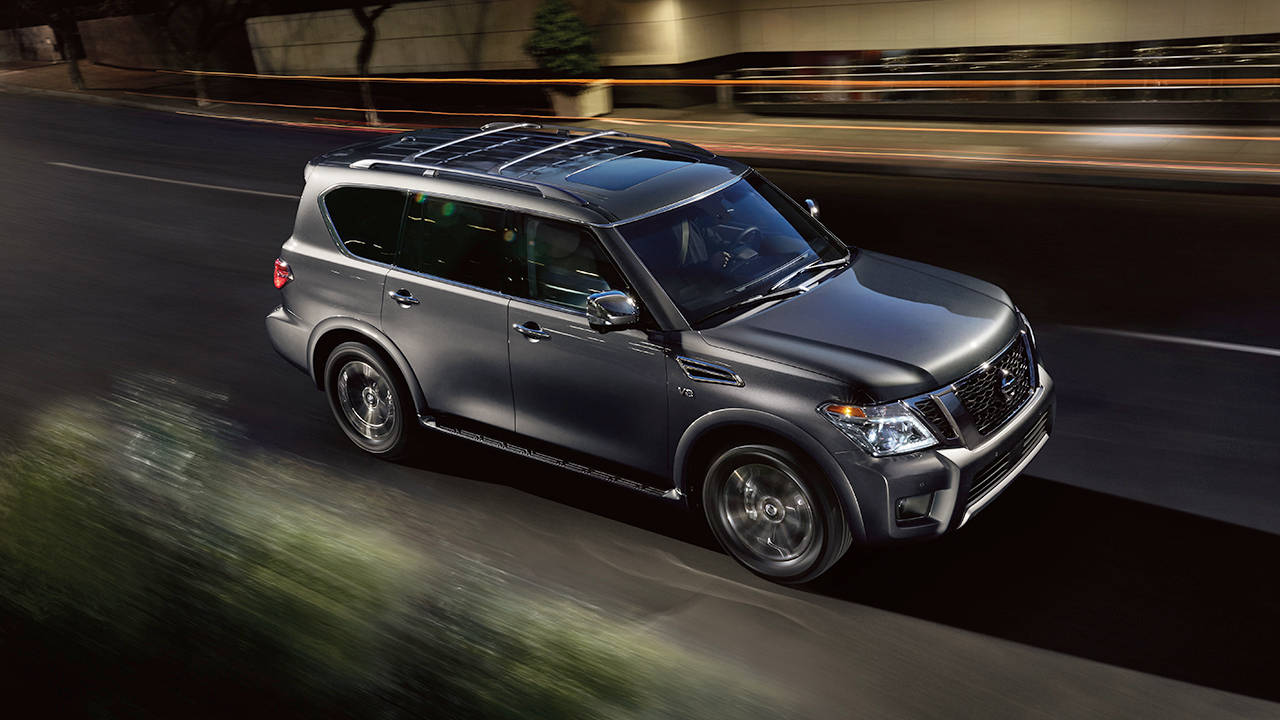 new 2017 nissan armada in conway ar. Black Bedroom Furniture Sets. Home Design Ideas