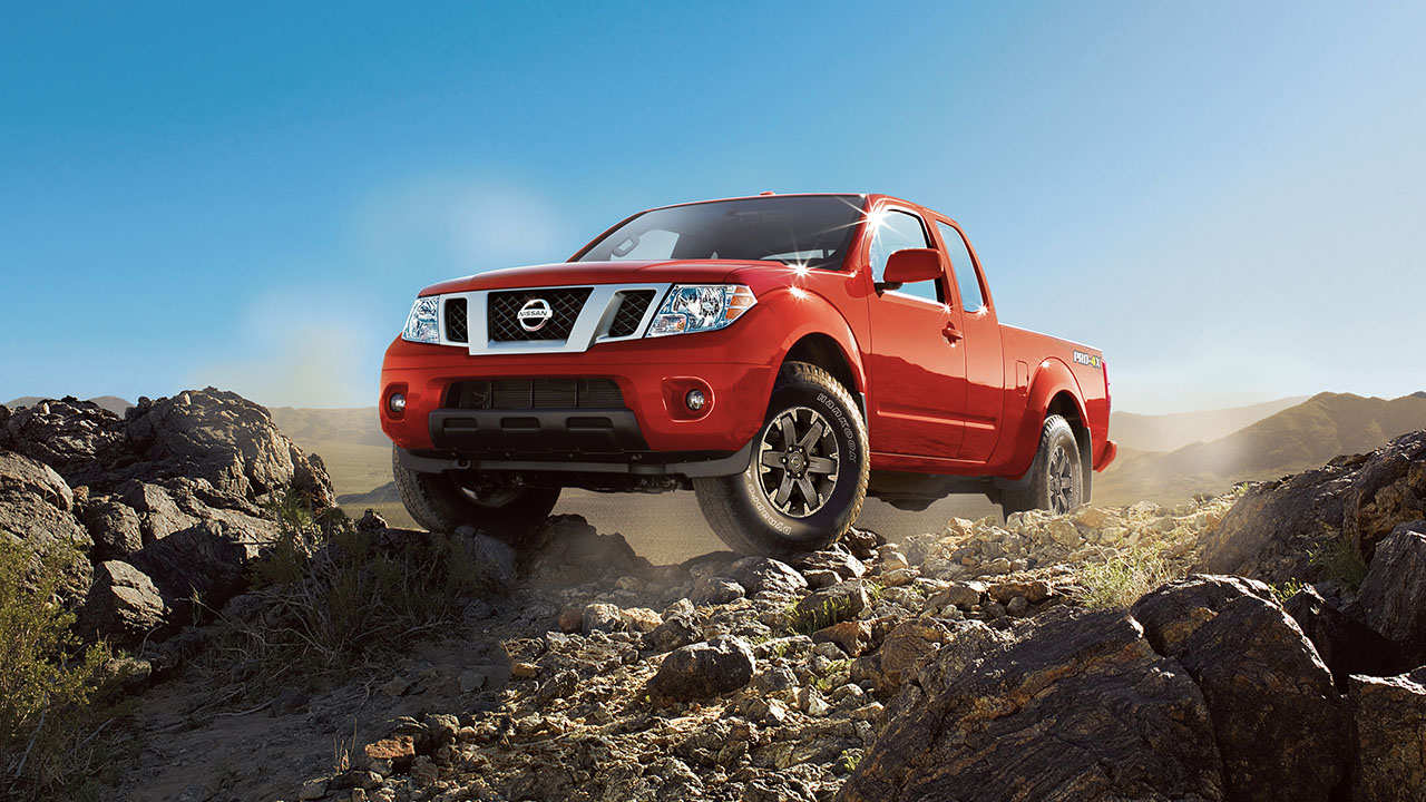 2017 Nissan Frontier Exterior Front Red
