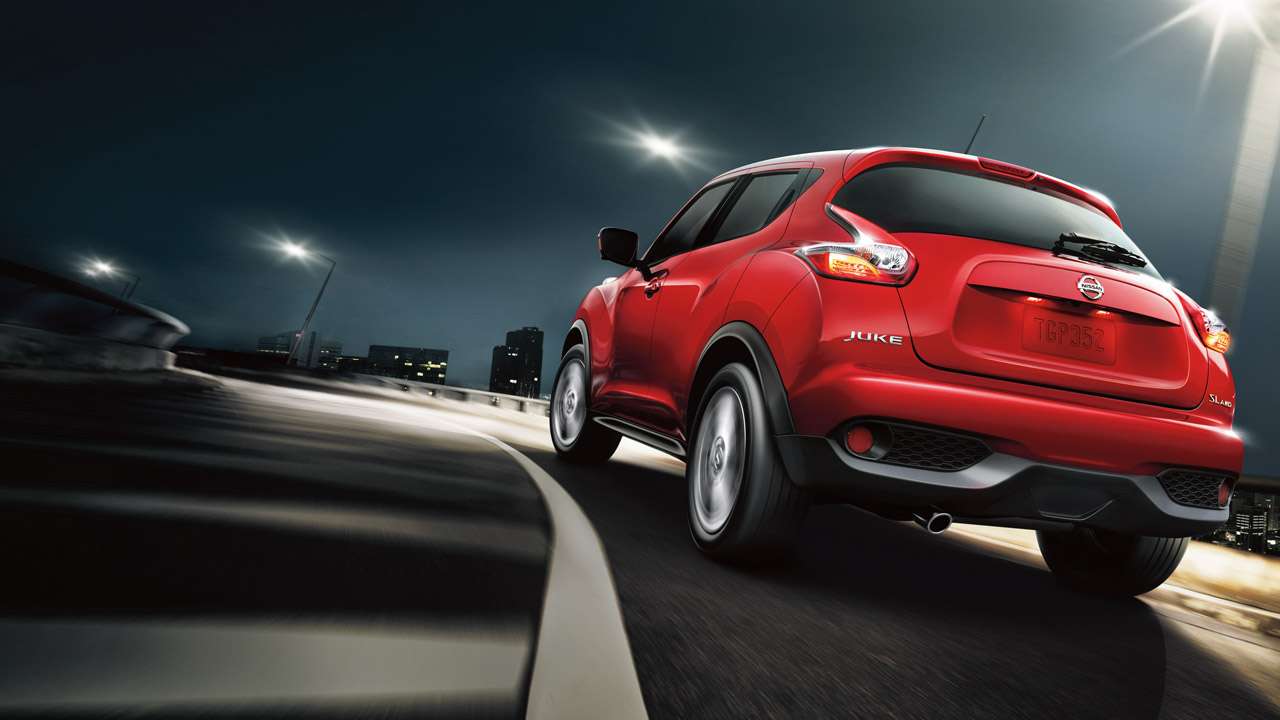 2017 Nissan Juke Exterior Rear Red