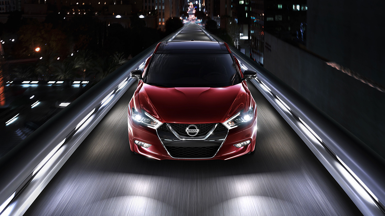 2017 Nissan Maxima Front Exterior Red