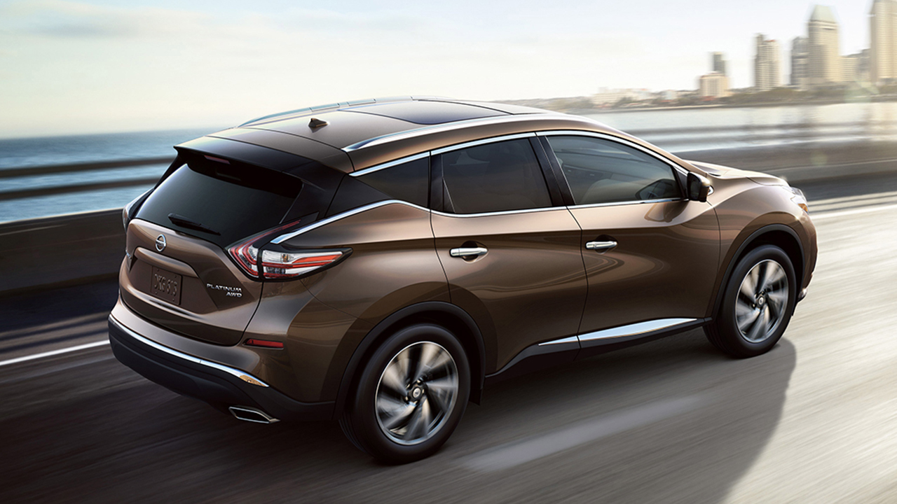 2017 Nissan Murano Platinum Brown Rear Exterior