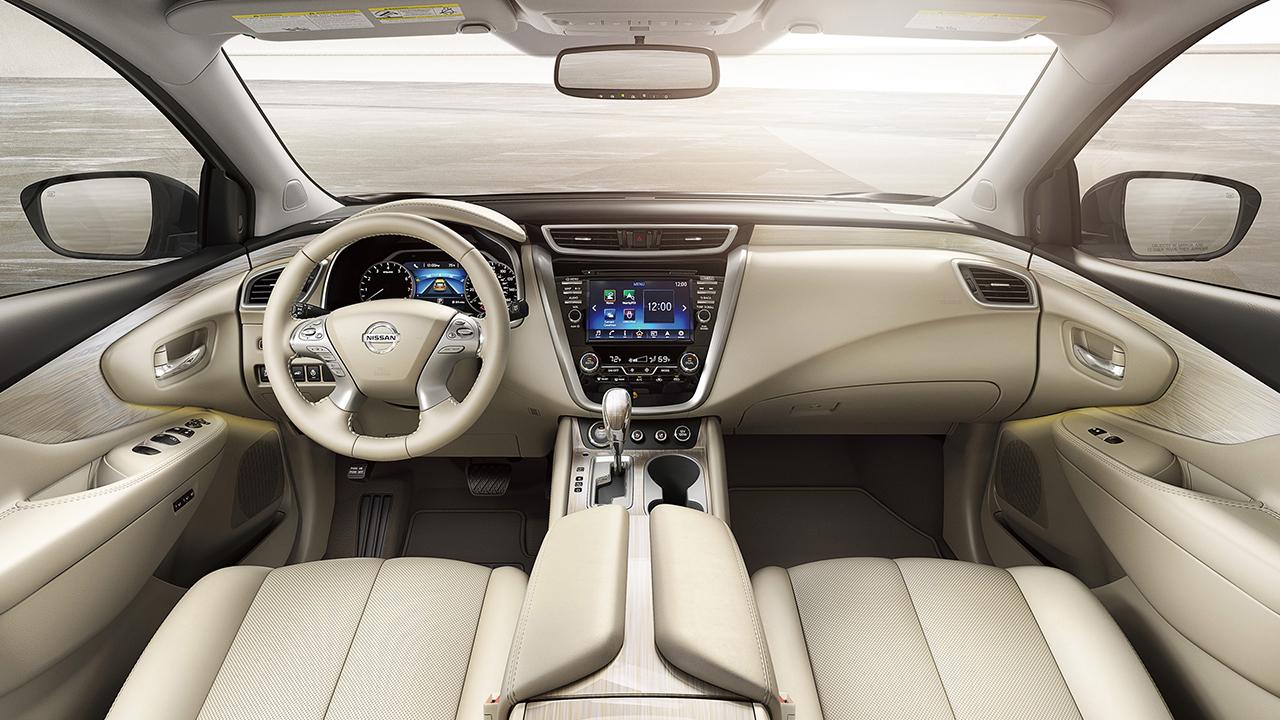 2017 Nissan Murano Interior Rear