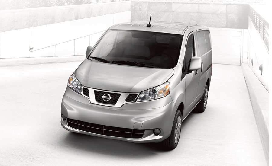 2017 Nissan NV200 Front Silver Exterior