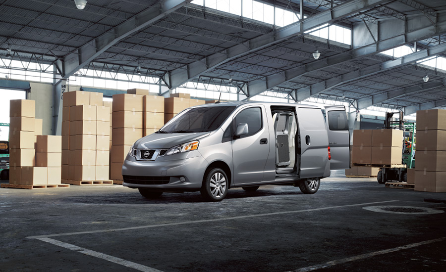 2017 Nissan NV200 Side Silver Exterior