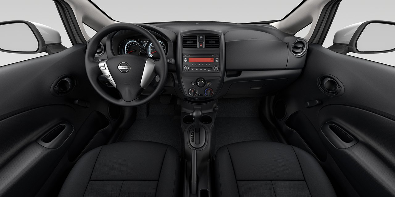 2017 Nissan Versa Note Dashboard Interior
