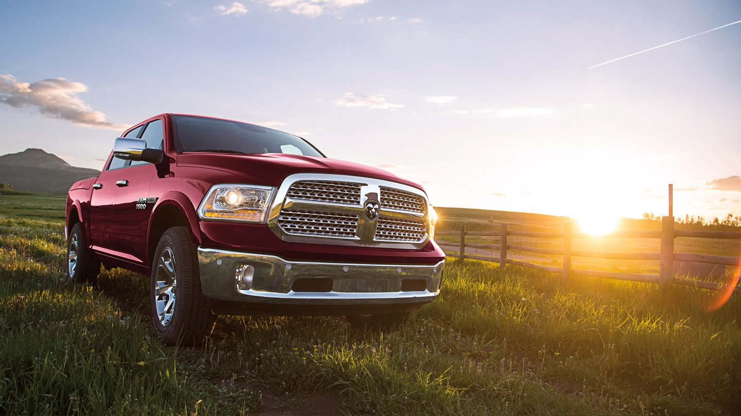2017 Ram 1500 Front Exterior Red