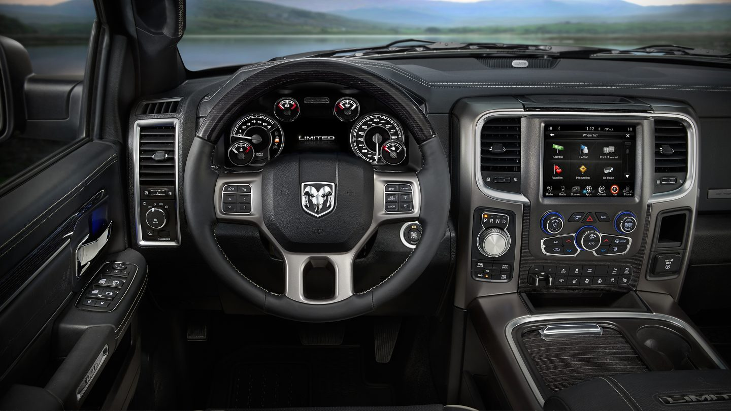 2017 Ram 1500 Rear Front Interior