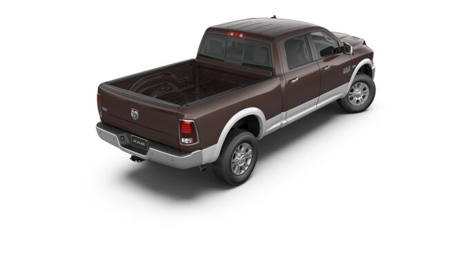 2017 Ram 2500 Laramie Brown Rear Exterior