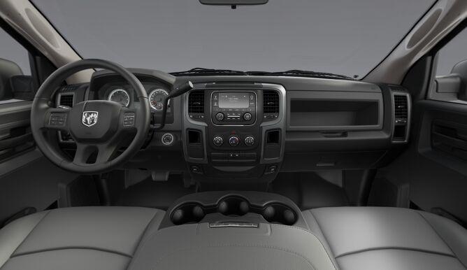 2017 Ram 2500 Tradesman Gray And Black Interior