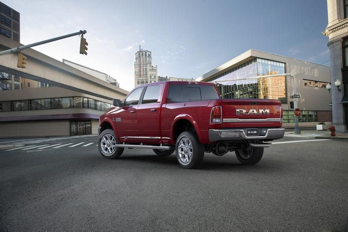 2017 Ram 2500 Exterior Rear Red