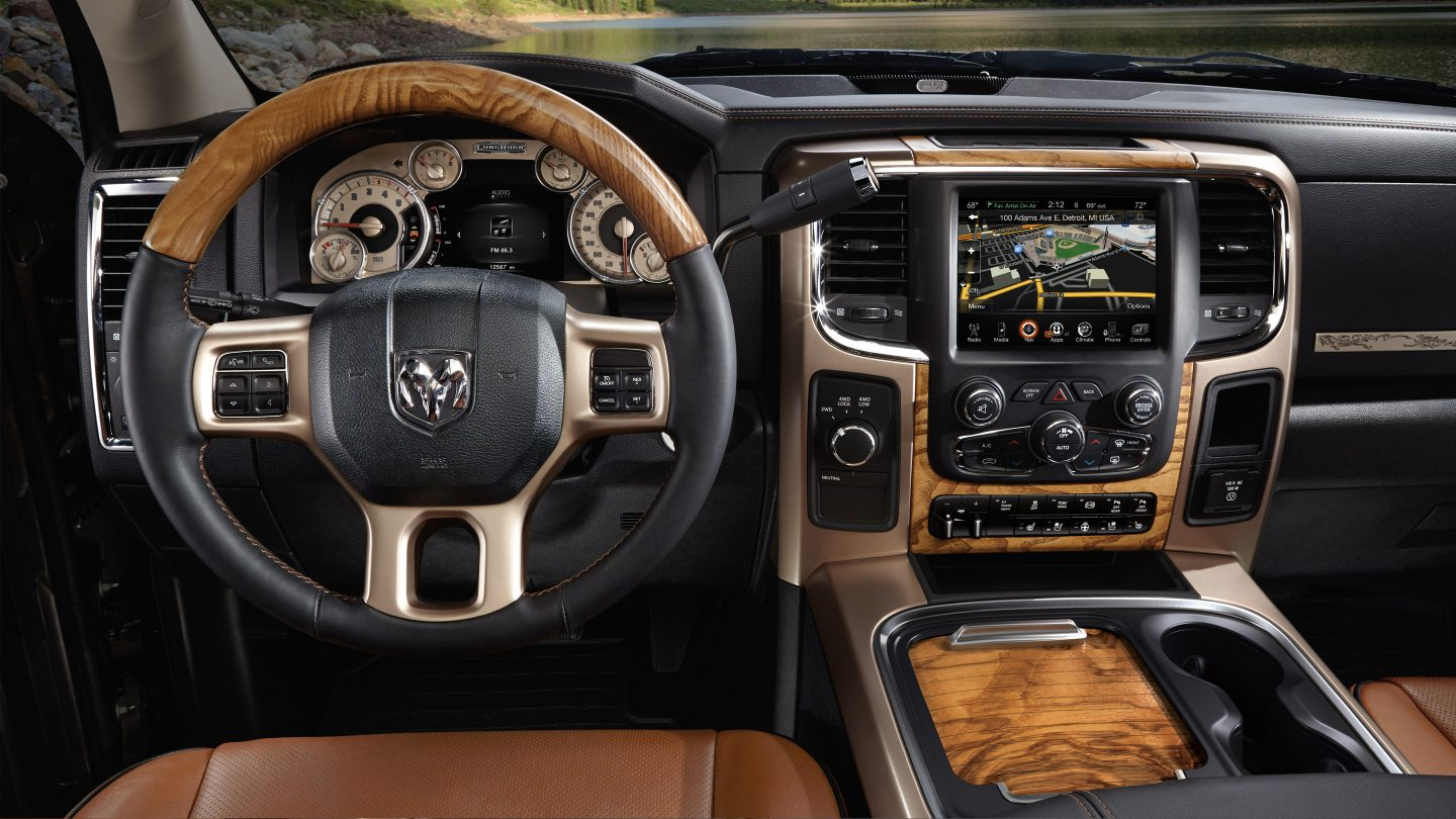 2017 Ram 2500 Interior Dashboard