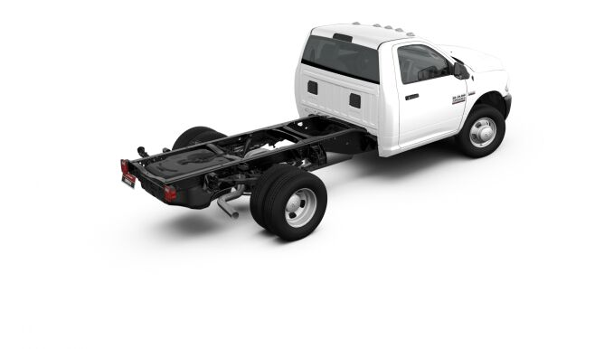 2017 Ram 3500 Chassis Exterior Rear
