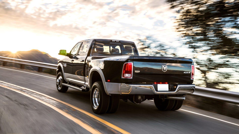 2017 Ram 3500 Laramie Rear Black Exterior