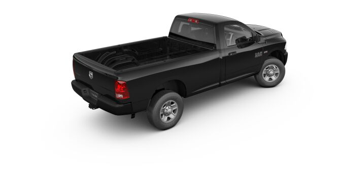 2017 Ram 3500 Tradesman Black Rear Exterior