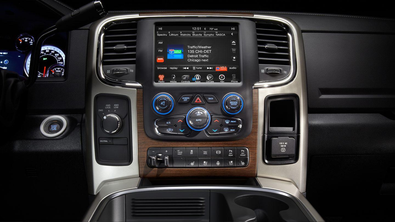 2017 Ram 3500 Interior Front