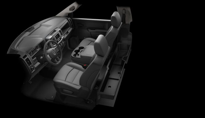 2017 Ram 4500 Chassis Interior