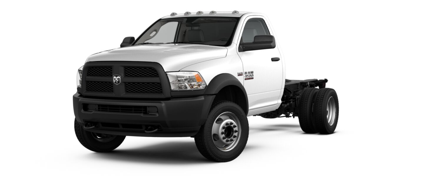 2017 Ram 4500 Chassis White Exterior