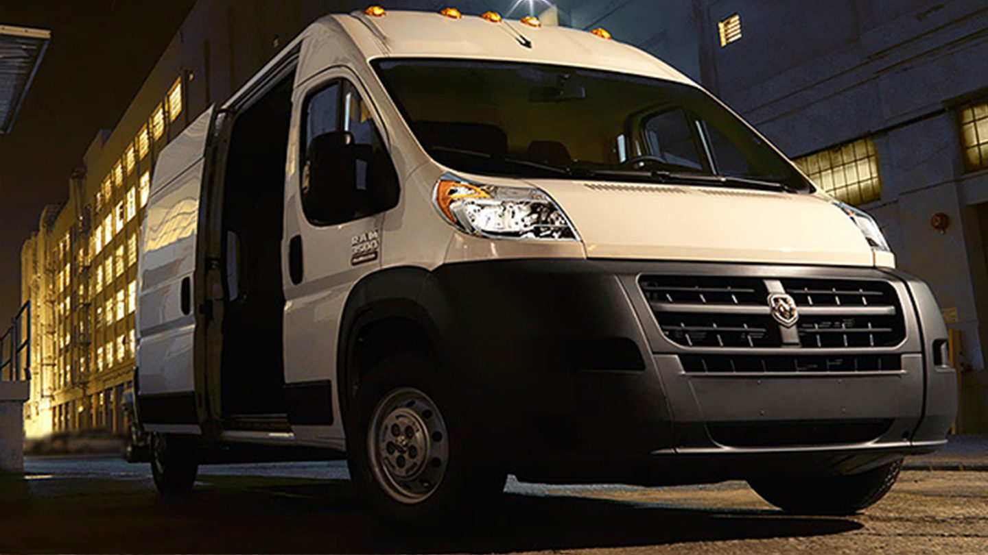 2017 Ram ProMaster 1500 Exterior White Front Side