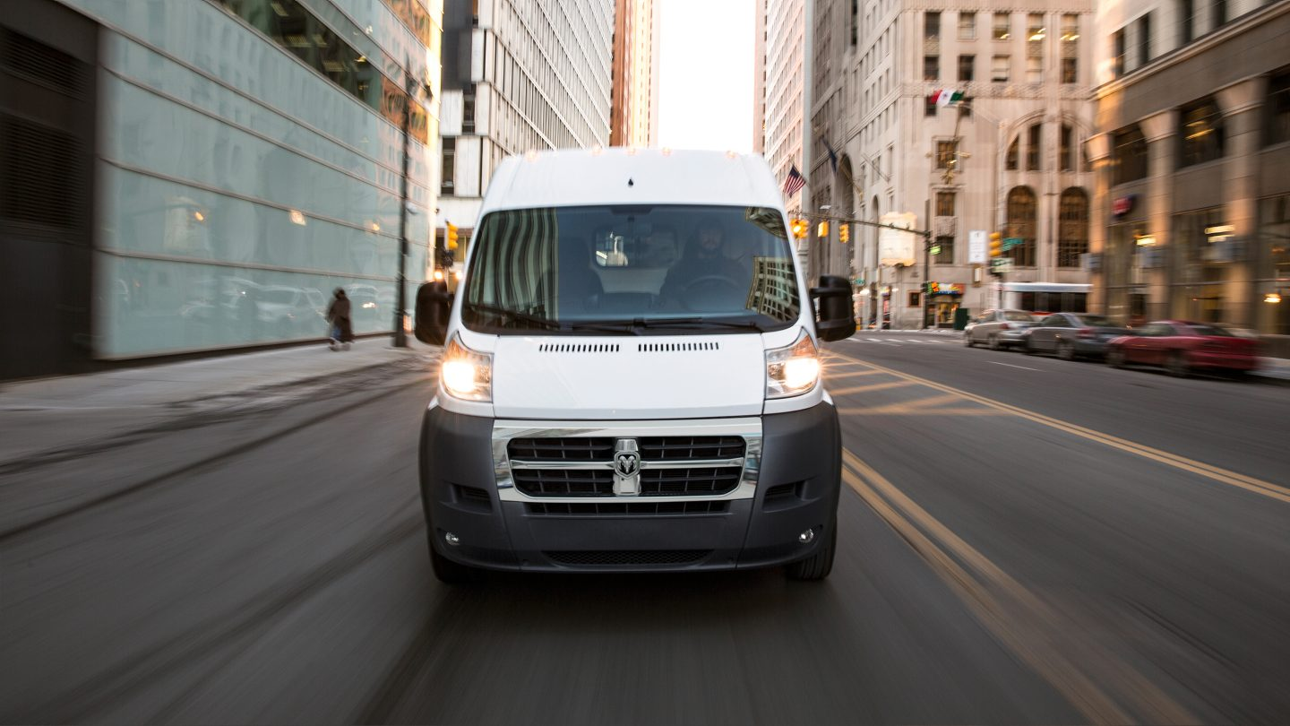 2017 Ram ProMaster 2500 Exterior White Front