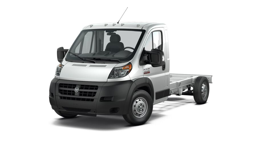 2017 Ram ProMaster 3500 Cutaway Front White Exterior