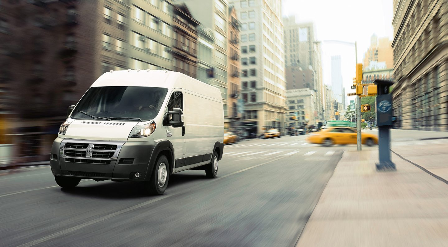 2017 Ram Promaster 3500 Exterior White Front