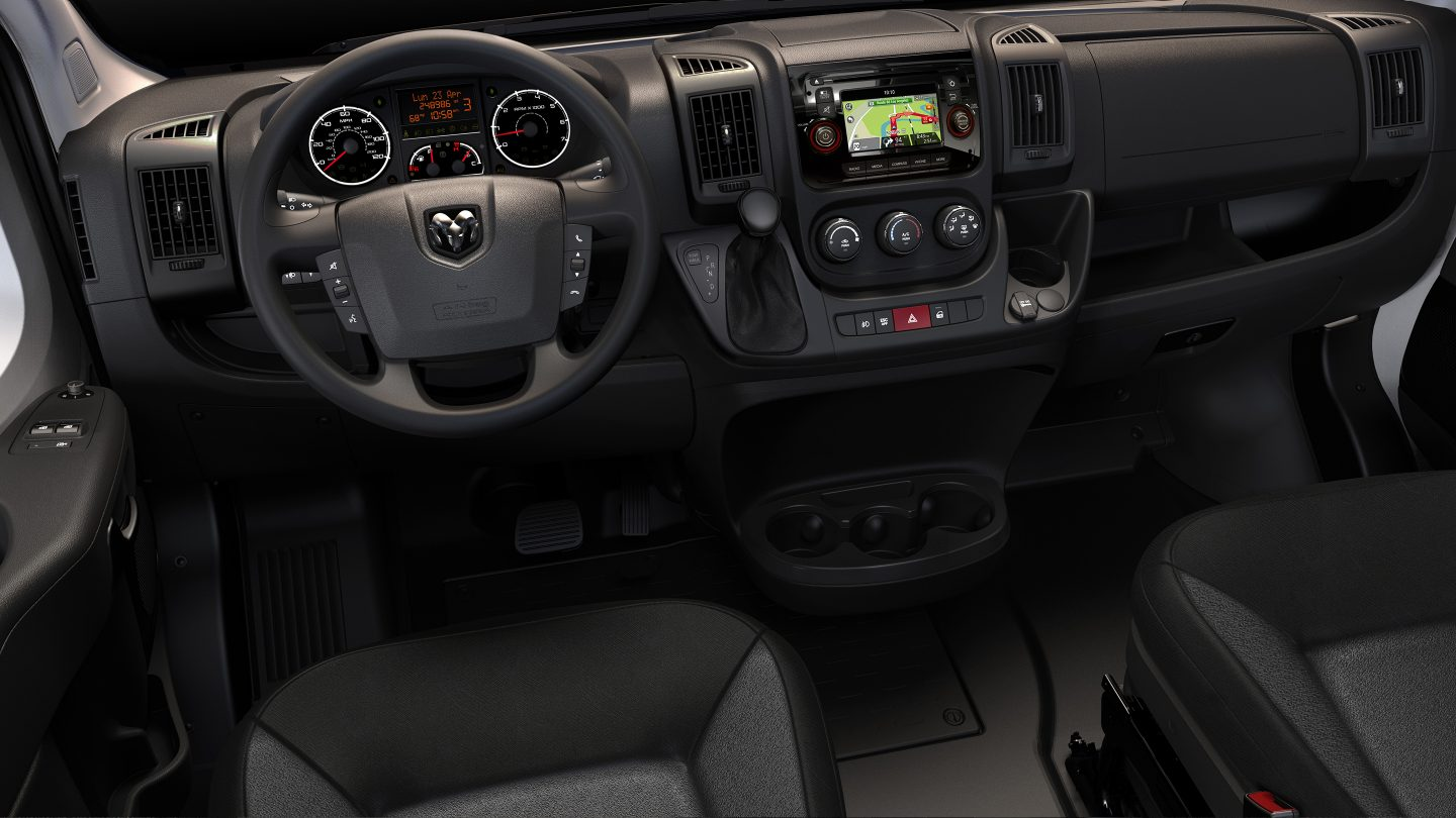 2017 Ram Promaster 3500 Interior Seating