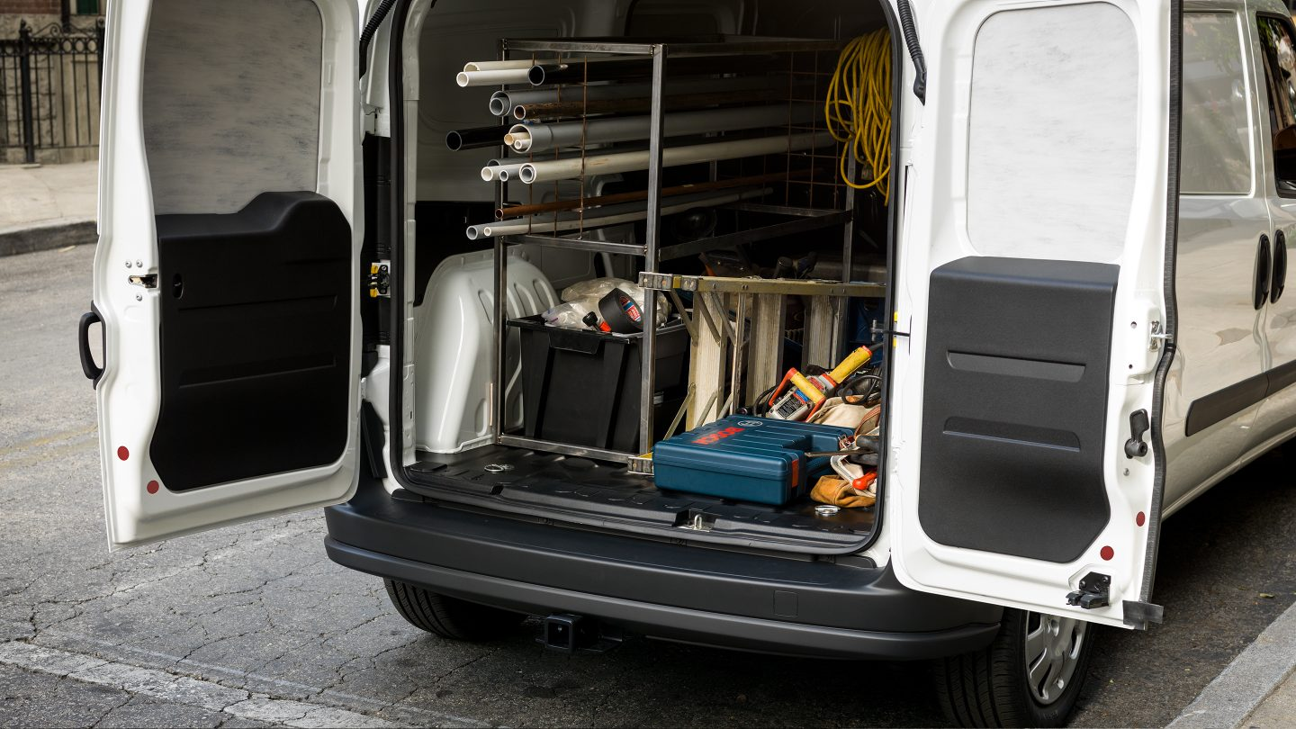 2017 Ram ProMaster City Exterior Rear 2