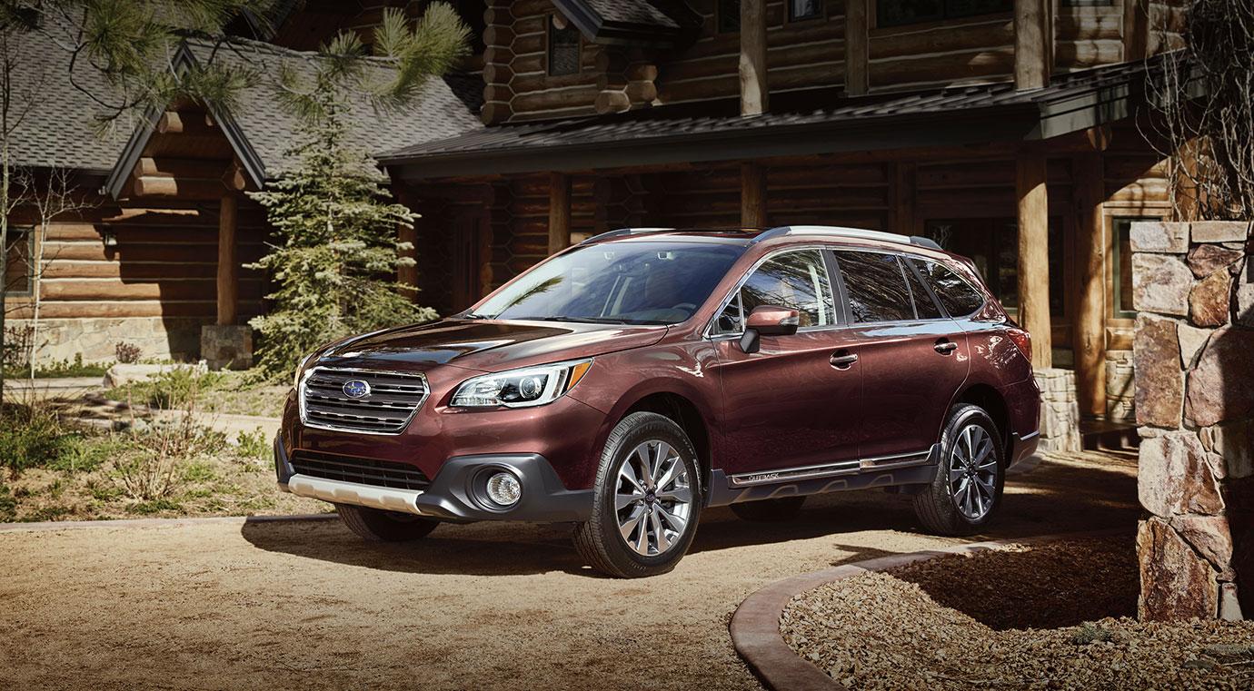 2017 Subaru Outback Red Exterior