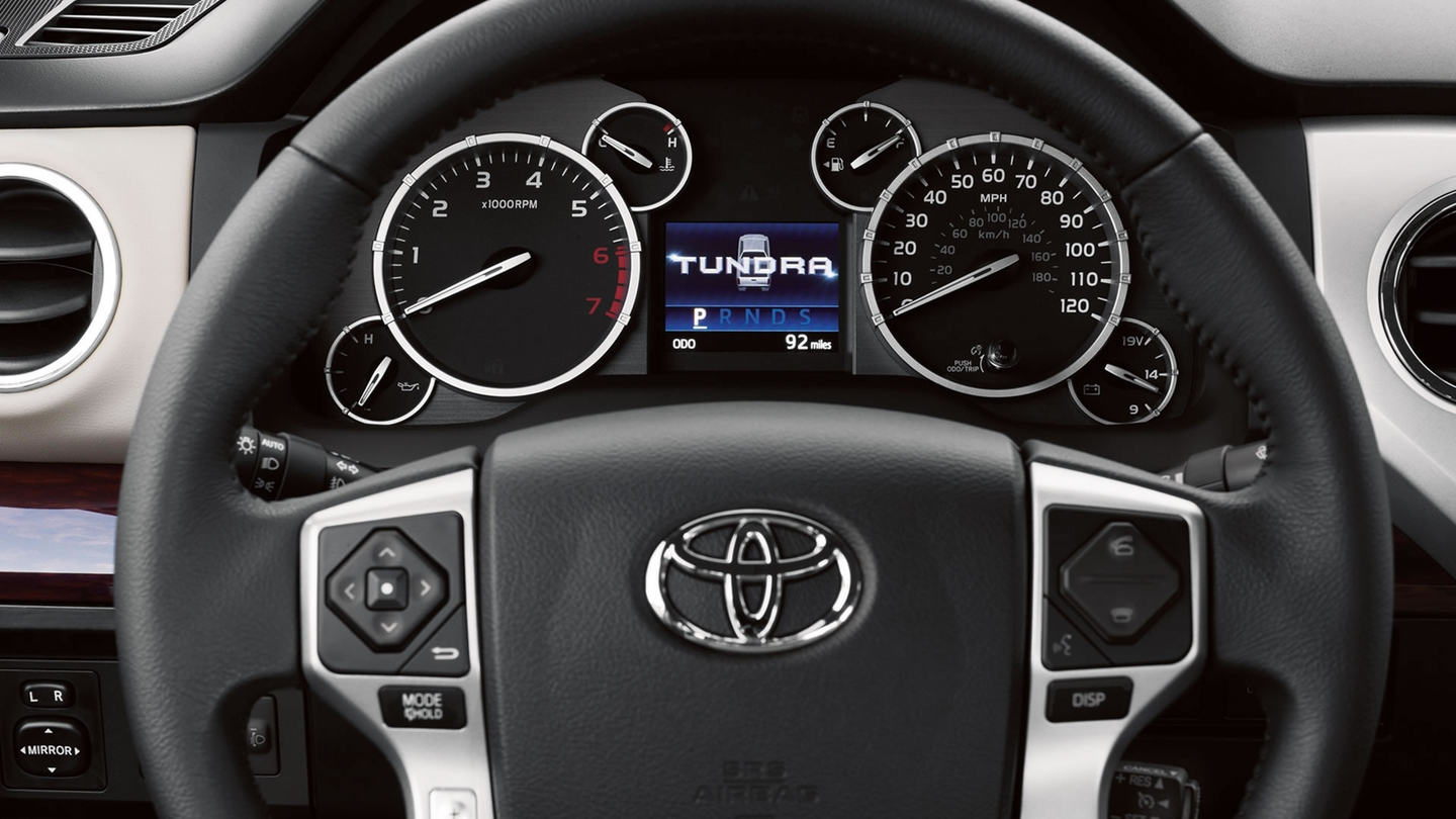 2017 Toyota Tundra Interior Steering Wheel