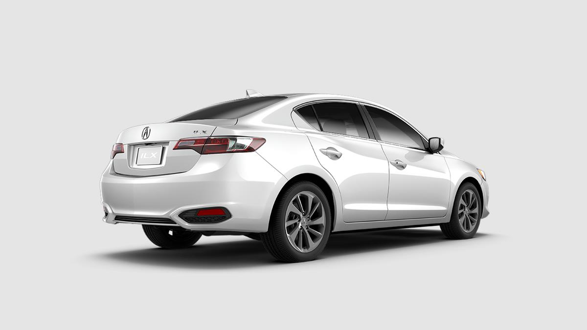 2018 Acura ILX with AcuraWatch Plus Exterior White Picture