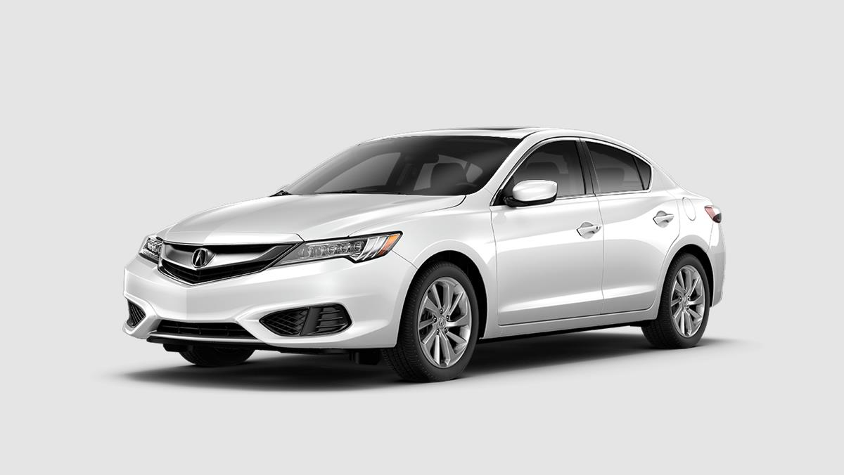 Picture of 2018 Acura ILX with AcuraWatch Plus Exterior White