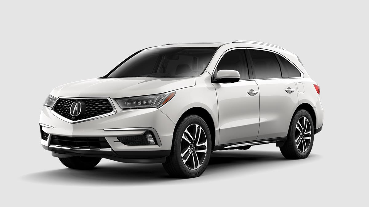 2018 Acura MDX with Advance Package Exterior Front White