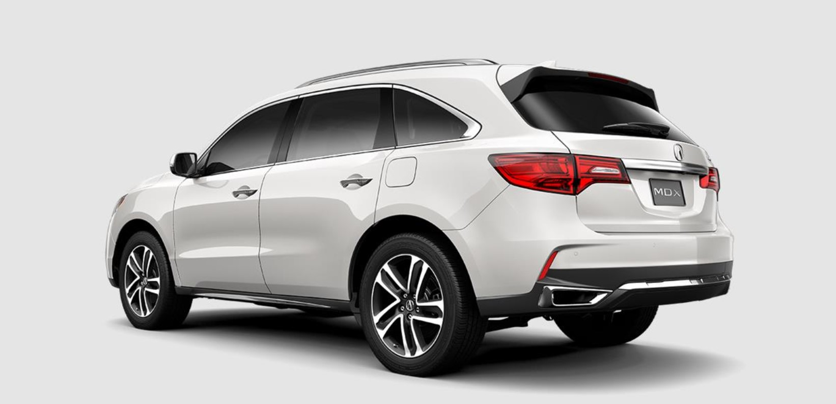 2018 Acura MDX with Advance Package Exterior Rear White