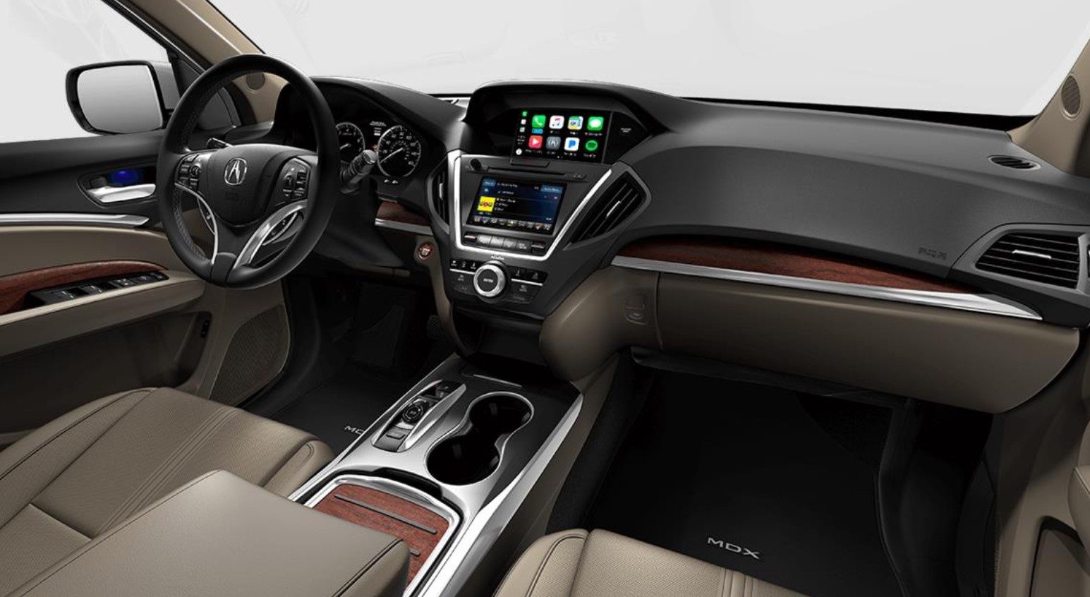 2018 Acura MDX with Advance Package Interior Dash Wood