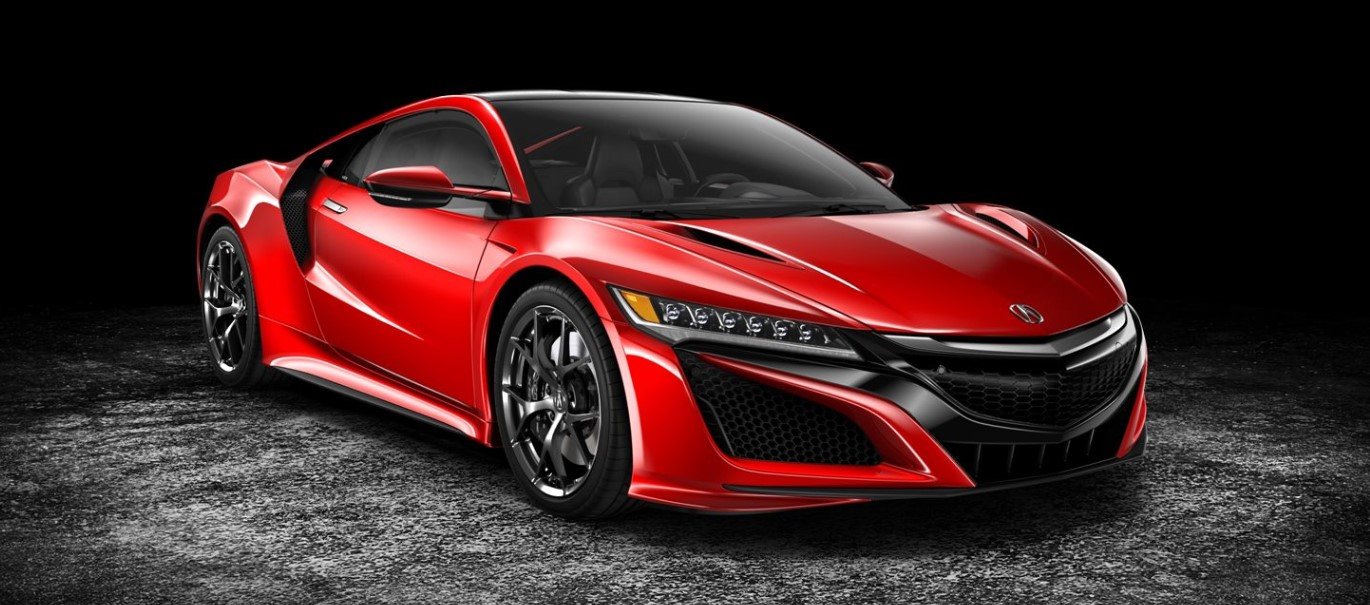 Picture of Red 2018 Acura NSX Front Exterior