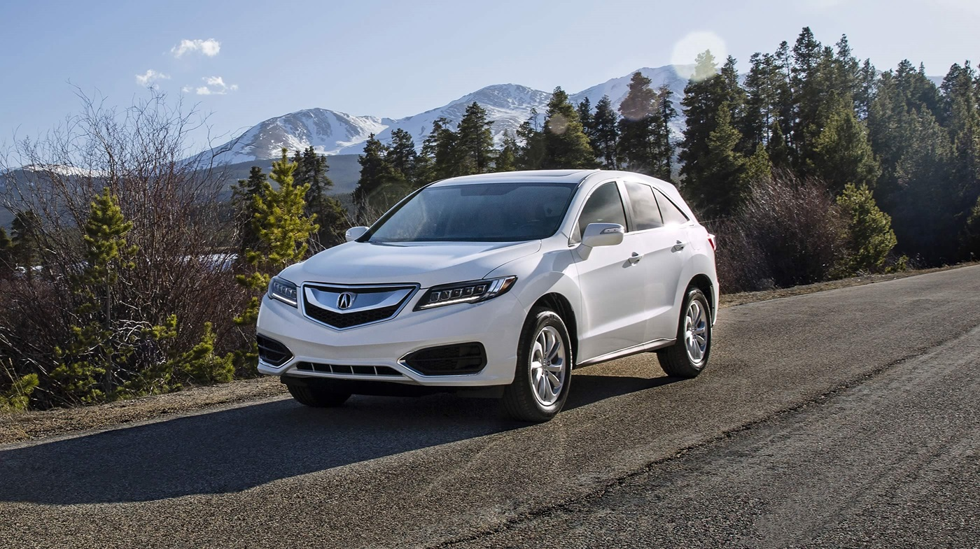 2017 Acura RDX with AcuraWatch Plus Package White Exterior Front View