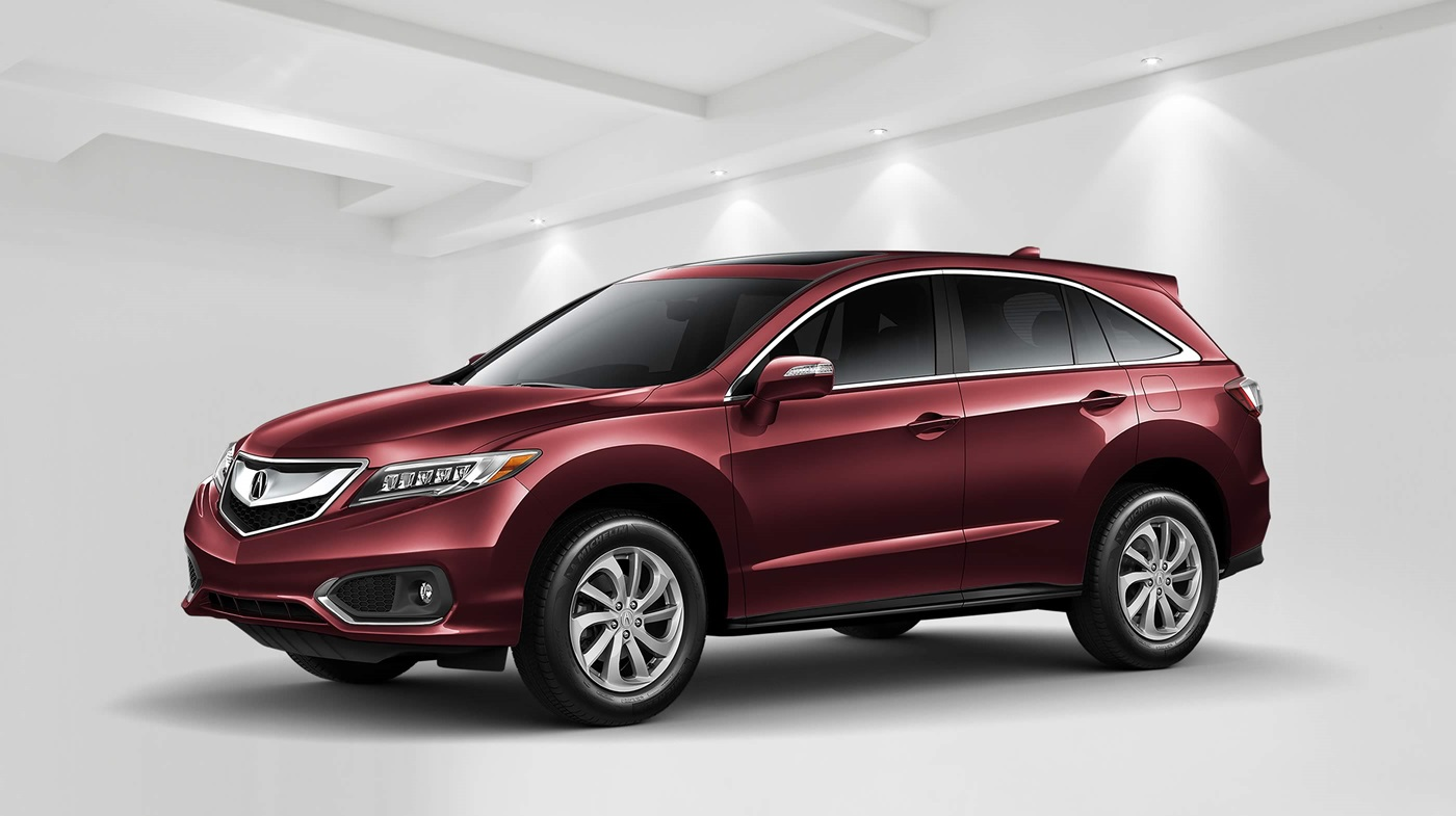 2018 Acura RDX with Technology Package Red Front Exterior