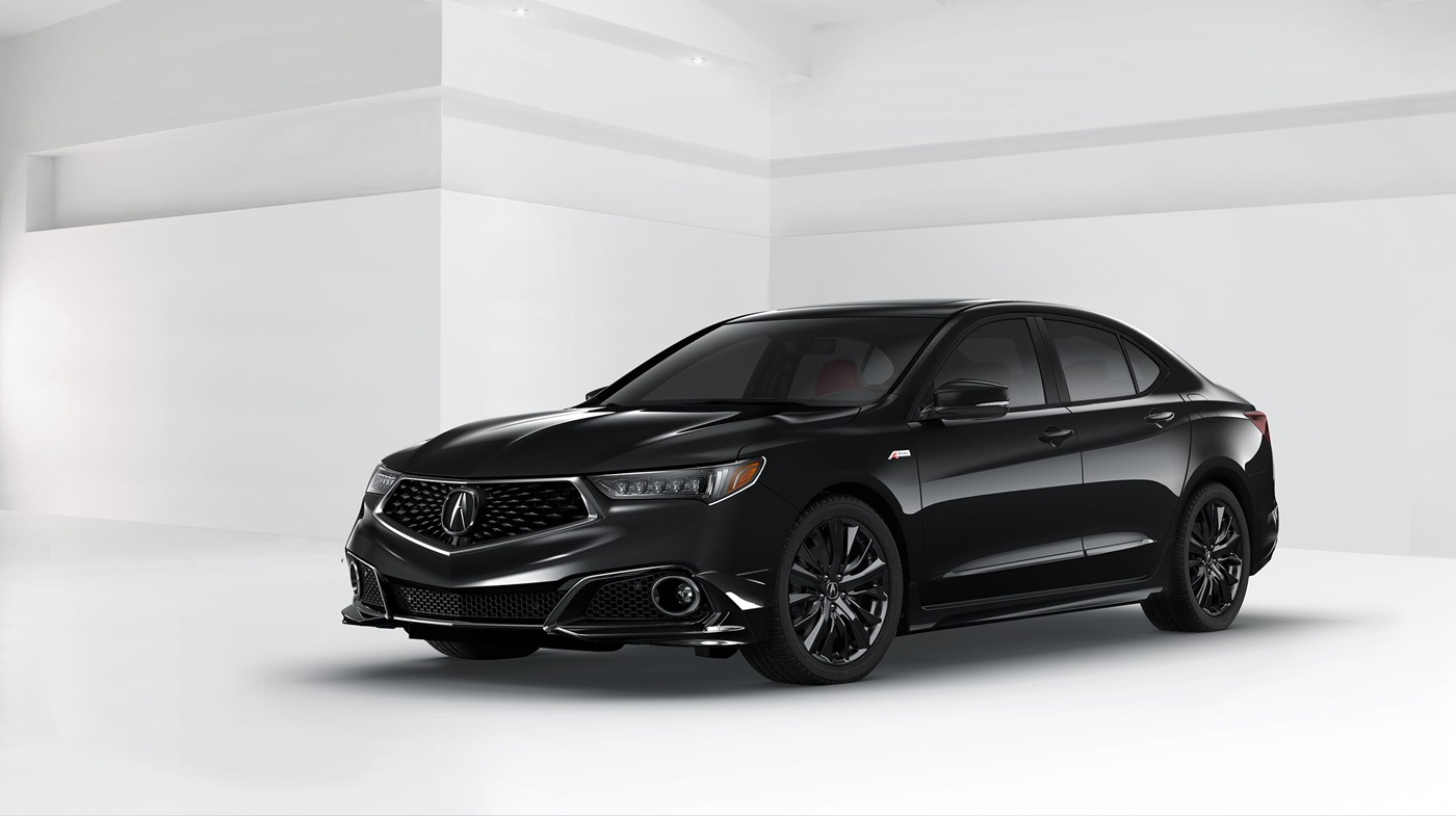 2018 Acura TLX A-SPEC Black Front Exterior